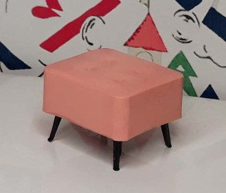 Triang Pink Stool 1011