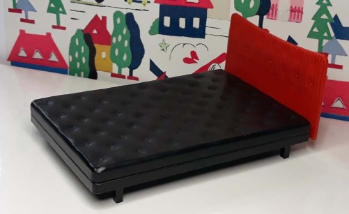 Triang Black Bed 1008